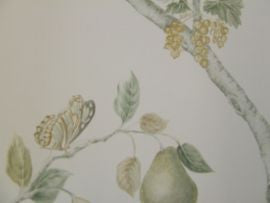 Sanderson Fruit Aviary 216313 Ivory Mineral