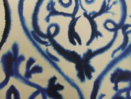 =Designers Guild FDG2690/01 Arabesque Colbalt
