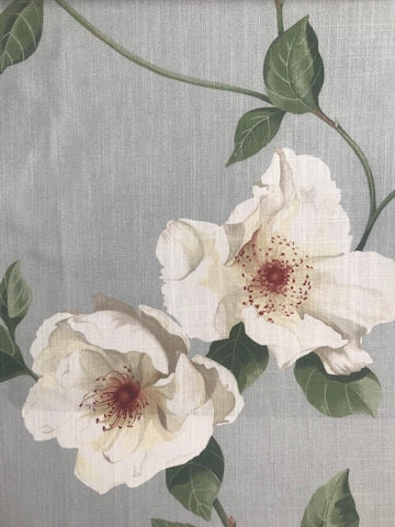 Sanderson Fabric Poet's Rose Scotch Grey 226737