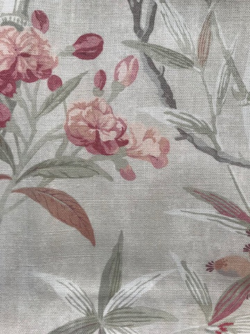 Colefax and Fowler Oleander Tomato/Green F4707-02