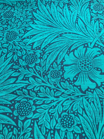 Morris & Co, Marigold, Navy, Turquoise, 226846