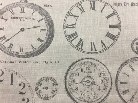 Fryetts Vintage Clocks (Charcoal)