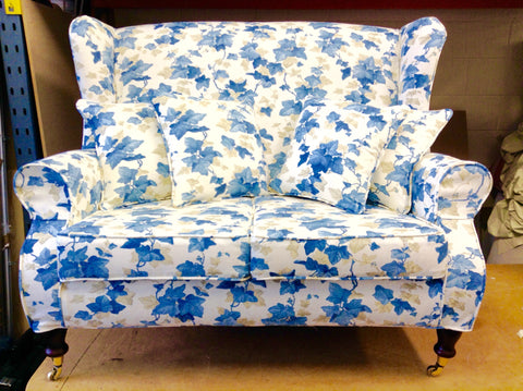 Sofa in Sanderson Fabric