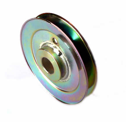 10252  Outboard Spindle Pulley