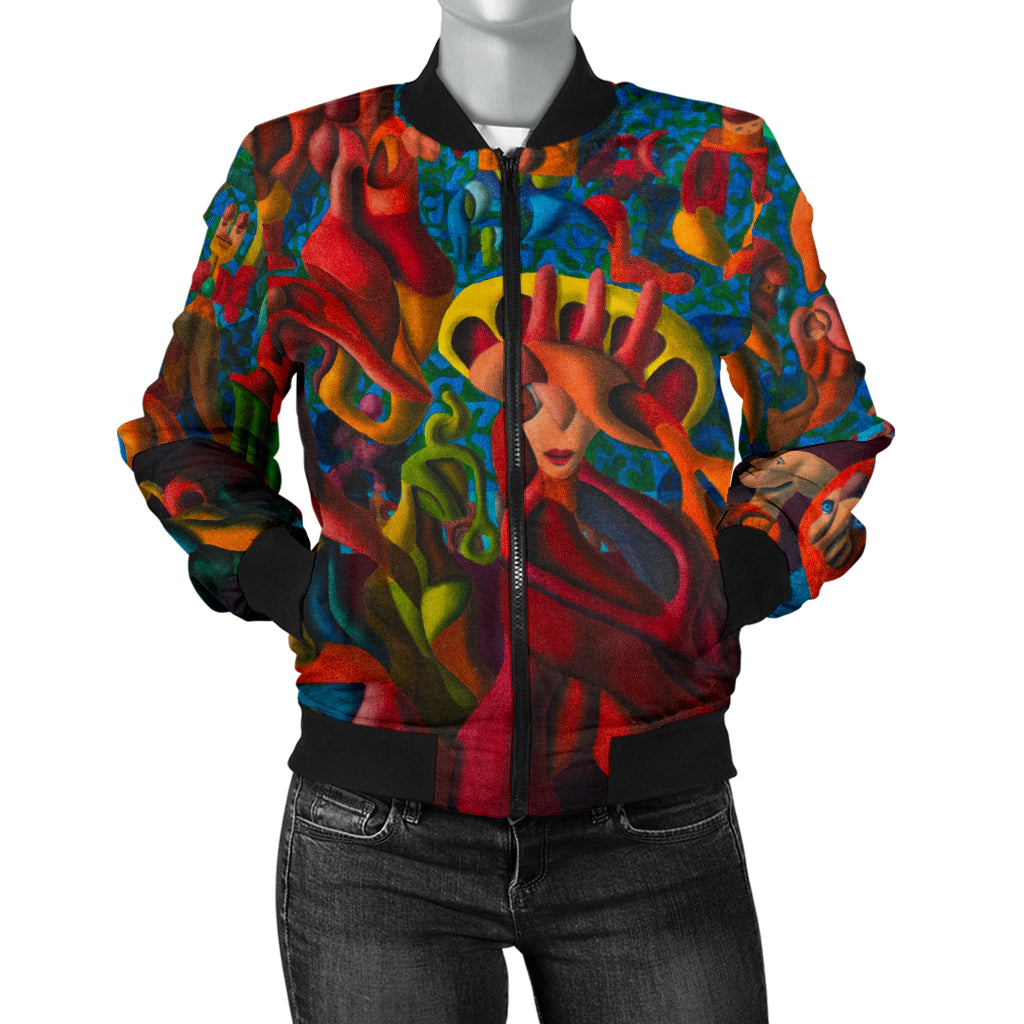 Summertime Womans Bomber Jacket