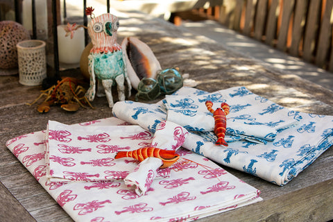 Lobster Tablecloth 12