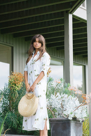 PALM TREE MAXI DRESS
