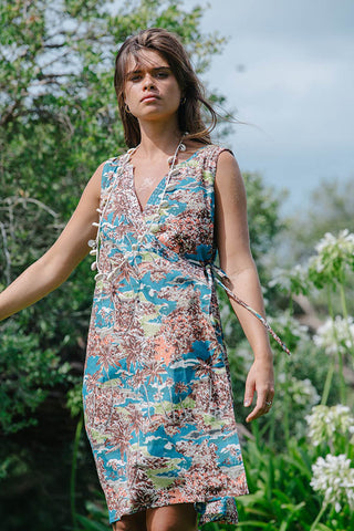 CASTAWAY WRAP DRESS