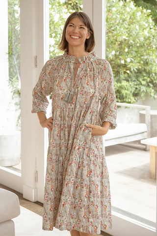 DITSY GYPSY SMOCK DRESS