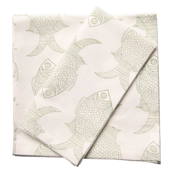 Fishy Napkin Set 6