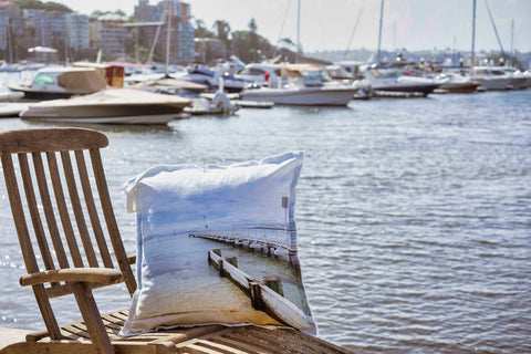 Pier Cushion Cover 65X65 Pair 2, NB: Sold in pars, RRP$ incl insert