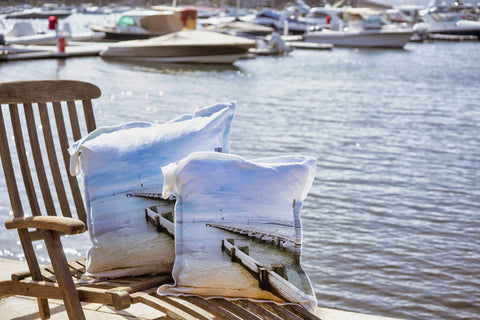 Pier Cushion Cover 50X50 Pair 2, NB: Sold in pairs, Incl insert