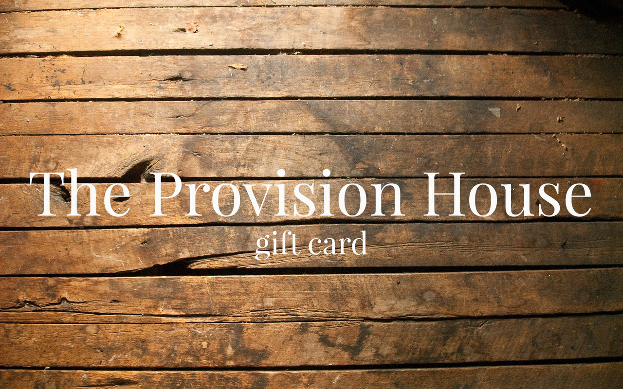 The Provision House Gift Card