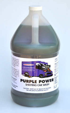 Purple Power - Sheeting Car Wash