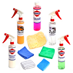 Pro Clean Car Care & Detail Kit