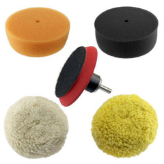 "Premier 3"" Car Buffing & Polishing Pad Kit - 5pc"
