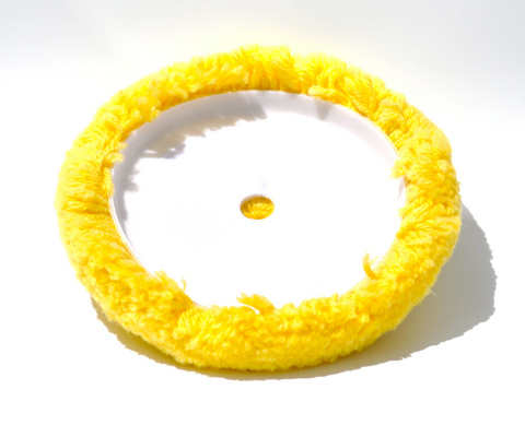 Yellow Wool Medium Compound Pad