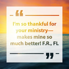 Thankful For Ministry Testimonial
