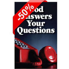 God Answers Your Questions ... Half off!