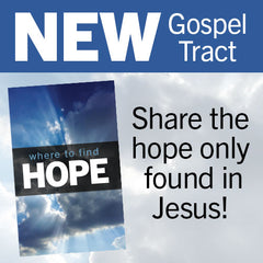 New Tract - Where To Find Hope