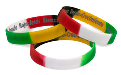 Spanish Silicone Wristbands