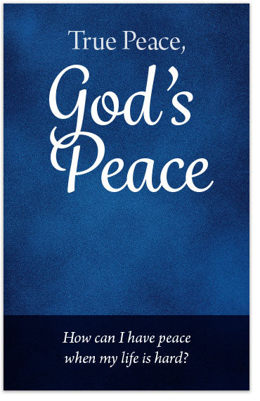 True Peace, God's Peace