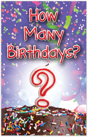 How Many Birthdays? (NKJV)