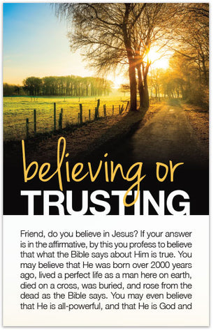 Believing or Trusting