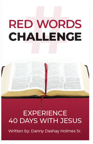 Red Words Challenge: Experience 40 Days With Jesus