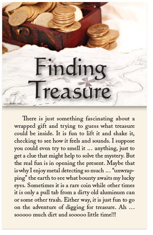 Finding Treasure (KJV) (Preview page 1)