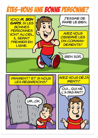 Are You A Good Person? (French, European) (Preview page 1)