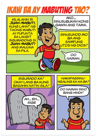 Are You A Good Person? (Tagalog) (Preview page 1)