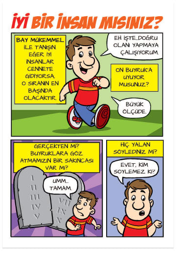 Are You A Good Person? (Turkish) (Preview page 1)