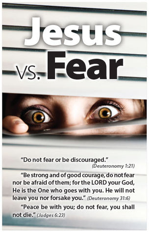 Jesus vs. Fear (NKJV) (Preview page 1)