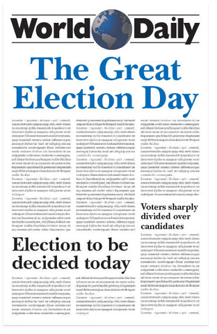 The Great Election Day (KJV) (Preview page 1)