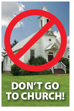 Don't Go To Church! (NASB) (Preview page 1)