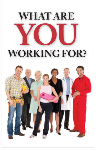 What Are You Working For? (KJV) (Preview page 1)
