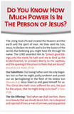 Do You Know How Much Power Is In The Person of Jesus? (KJV) (Preview page 1)