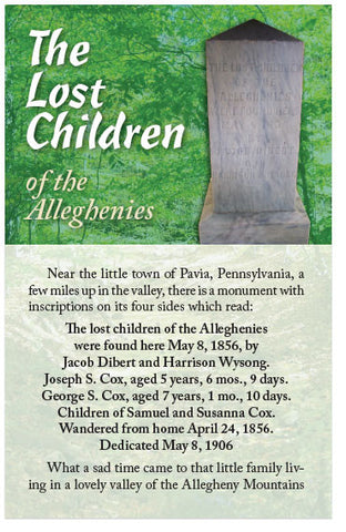 The Lost Children of the Alleghenies (KJV) (Preview page 1)