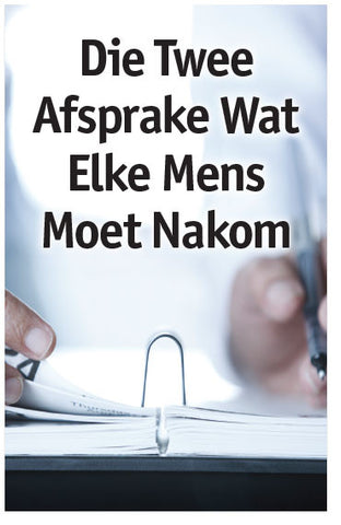 Two Appointments Every Man Has To Keep (Afrikaans) (Preview page 1)
