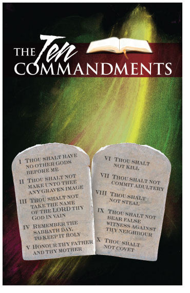 The Ten Commandments (NKJV) – Moments With The Book