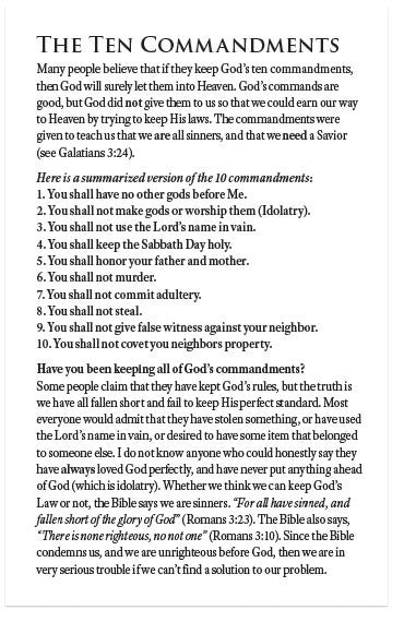 the ten commandments nkjv moments with the book