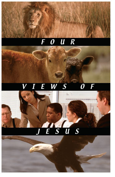 Four Views of Jesus (KJV) (Preview page 1)