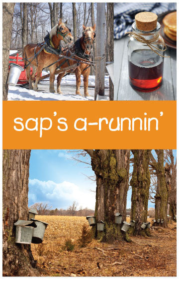 Sap's A-Runnin' (KJV) (Preview page 1)