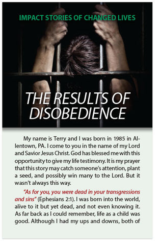 The Results of Disobedience (NIV) (Preview page 1)