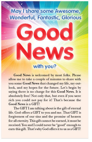 May I Share Some Good News? (KJV) (Preview page 1)