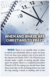 When and Where Are Christians to Pray? (NIV) (Preview page 1)