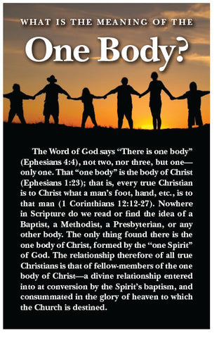 What is the Meaning of the One Body? (KJV) (Preview page 1)