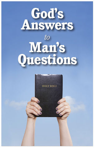 God's Answers to Man's Questions (KJV) (Preview page 1)