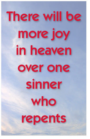 More Joy In Heaven (KJV) (Preview page 1)
